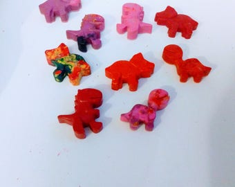 Crayons, Dinosaur Crayons-set of 50, party favors, dinosaur crayon, dinosaur party, dinosaur party favor, dinosaur-shaped crayon-dino-crayon