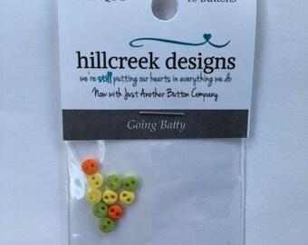 Going Batty Button Pack from Hillcreek Designs B319-QDD