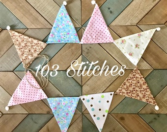 Fabric Triangle Banner