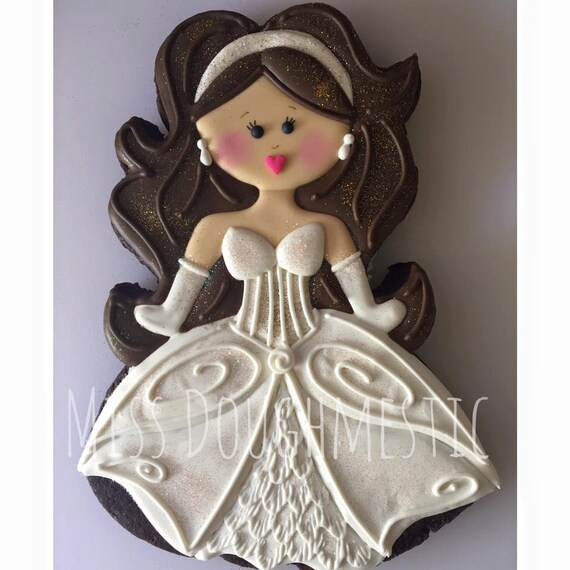 Miss Doughmestic Girl 10 BRIDE or Mermaid Cookie Cutter or