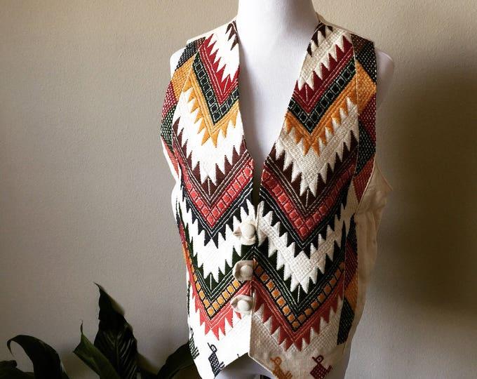 vintage southwest vest