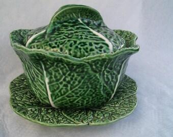 antique soup tureen is ceramic  soupiere Soup Kitchen   Antique  Transferware  Country Antique Tureen Serving Bowl. cauliflower