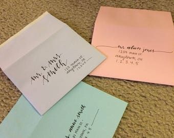 Custom Handwritten Envelopes