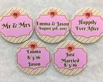 Sets of 50/100/150/200 Personalized Wedding Confetti