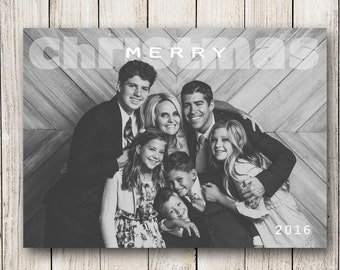 Holiday Cards / Christmas Photo Card  (Digital File or Printed Cards)