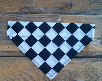 Checkered Pet Bandana,Dog Bandana, Dog Scarf, Cat Bandana, Pet Collar, Pet Supplies, Pet Clothing, Pet Accessories, Pets