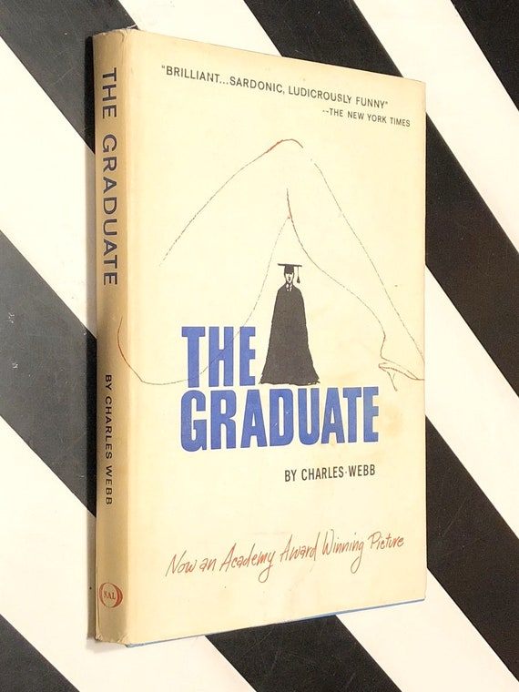 The Graduate by Charles Webb (1963) hardcover book