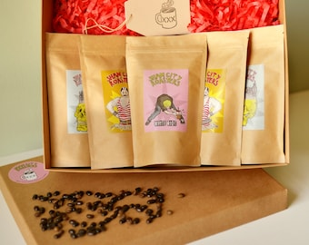 All Coffee Gift Set, Coffee Gift box, Coffee Gift basket, Coffee Gifts From Sham City Roasters, Specialist Craft Coffees Roasted In London