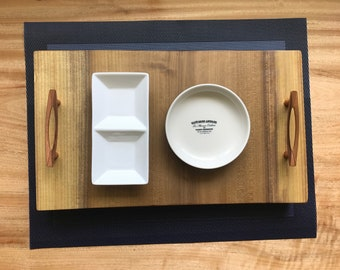 Large Wooden Serving Tray