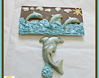 Dolphin Gift Chocolate/Sea Creatures/Ocean/Animal Lover/Seaside/Under the Sea/Women/Woman/Girls Birthday Gift/Marine Life/Boys/Kids/Son/Surf