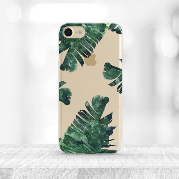 iphone 8 case palm leaves