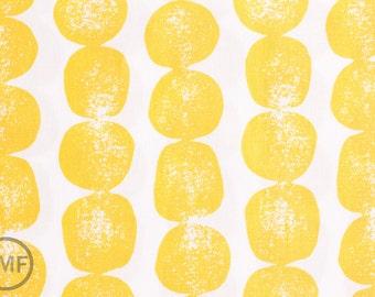 Half Yard Mormor Bergen in Yellow, Lotta Jansdotter, Windham Fabrics, 100% Cotton Fabric, 37117-5