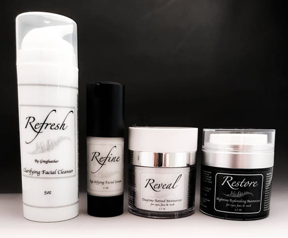 NEW!  Greyfeather Face Care Line