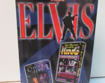 Hollywood 2 series pack vhs tapes elvis change of habit and rare moments with the king