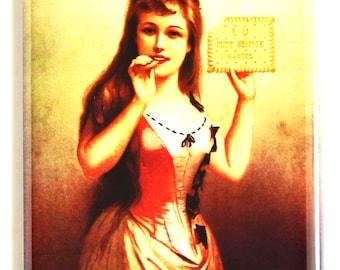 Biscuits Lefevre Utile Fridge Magnet