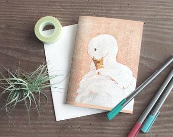 Bird Greeting Card Set - Blank - Card set - Rosequartz bird