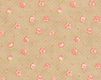 Strawberry Fields Revisited Fabric - One yard - Fig Tree & Co. - Moda Fabrics - Floral Fabric - Stock No. 20261-17