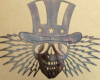 Uncle Sam Grateful Dead Wall Art (E35)
