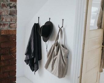 Large Linen Tote Bag, Earth Linen Tote, Linen Beach Bag, Linen Market Bag, Yoga Bag, Linen Carryall, Linen Shopping Bag, Organic Tote