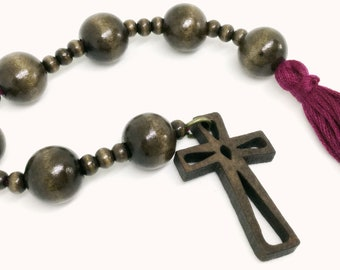 Lutheran Prayer Beads — Paternoster Chemnitz-style (Cross)