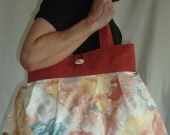Bag reversible Sylvie duo of prints