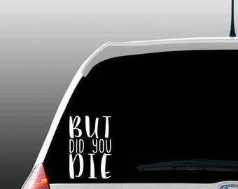 Funny Car Decal Etsy - Funny decal stickers for carssticker car window picture more detailed picture about funny car
