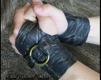 Post Apocalyptic Cuffs MAD MAX Cuff Fury Road FALLOUT Mens Wasteland Gloves