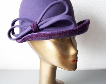 Blue Berry - Vintage Hat