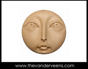 Mold No.116 (Flatter- Full moon Face with Opened Big eyes) by Veronica