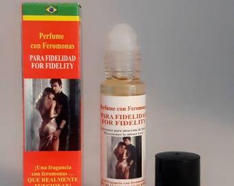 For Fidelity, perfume of pheromones in oil Roll on 1 / 3oz