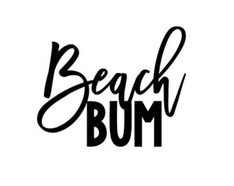 Beach Bum SVG