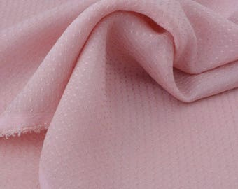 Fabric sweatpants silky soft old pink x50cm