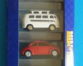 Maisto Road and Track Vee Dubs 5 VW beetles New in box