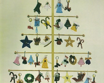 Vintage Yule Tied Macrame Book Patterns for Holiday Crafts and more