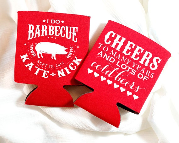 Couples Wedding Shower Gift Ideas: BBQ Wedding Favors Couples Shower BBQ I Do BBQ Pig Cheers