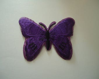 patch Thermo - application - Butterfly - purple