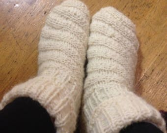 Socks made of genuine sheep's wool, sheep wollsocken, favourite socks