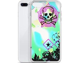 iPhone Case Skull Punk Unique Art For Phone Cool Case