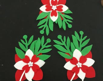 Christmas Tree Decoration - Prima Marketing Inc. Die Cut tree decoration or gift wrap accessory.