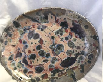 Oval Cosmic Serving Platter