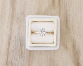 Thin gold oval CZ solitaire ring, oval CZ, oval solitaire, gold filled ring, gold ring, engagement ring, gold cz ring, dainty gold ring
