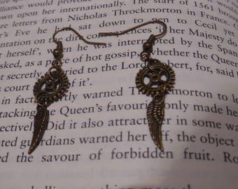 Steampunk Angel Earrings
