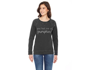 You had me at pumkin pullover sweater