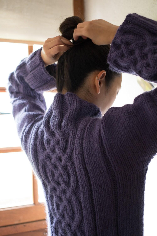 pull celtique pour femme pull chaud pour femme gros pull. Black Bedroom Furniture Sets. Home Design Ideas
