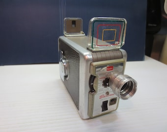 Brownie Movie Camera II  f/1.9 Improved With Case Circa 1960