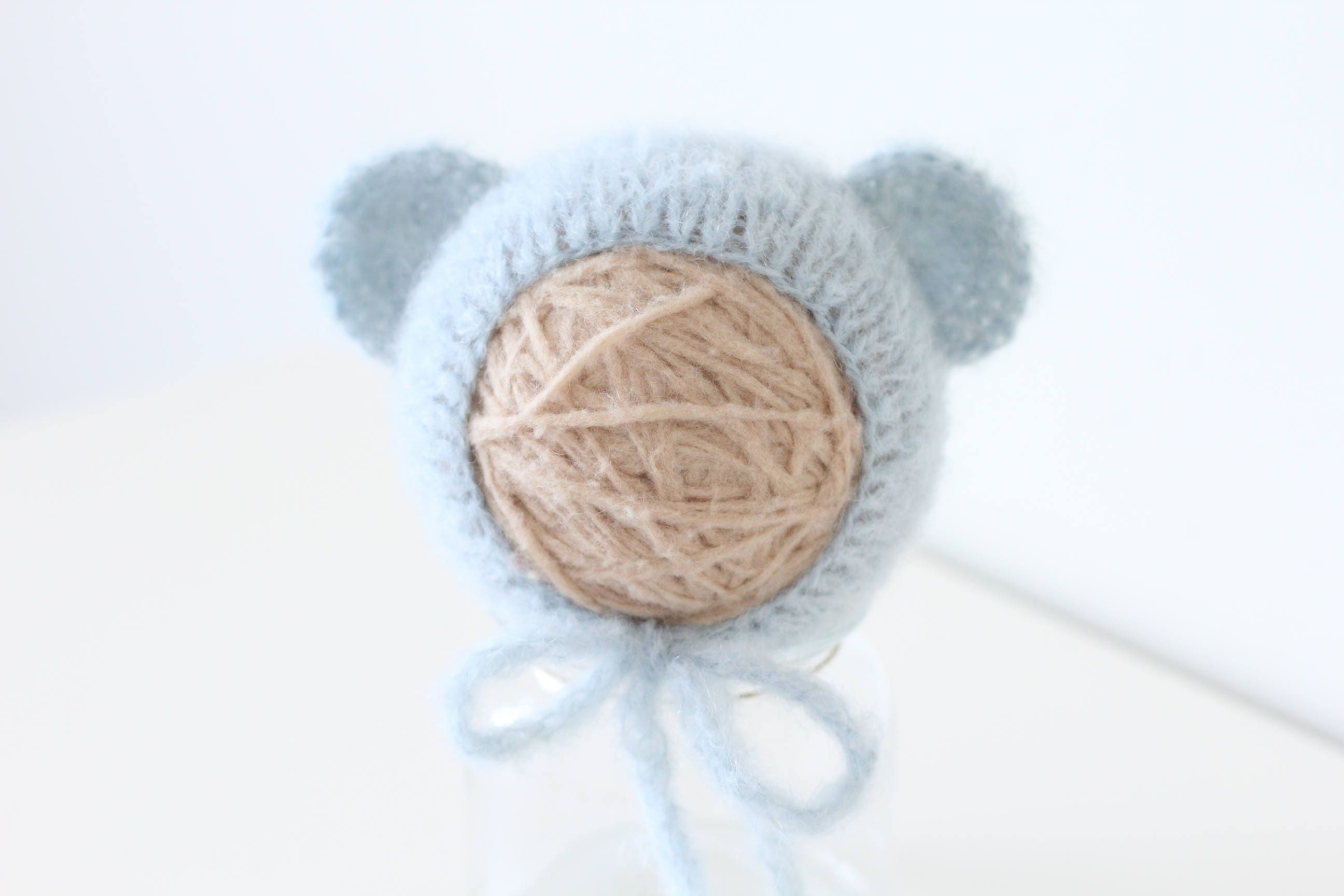 b680cbceb18 Newborn bear – Baby props – Newborn boy – Photo props – Baby boy bear – Newborn  hat – Newborn props – Baby boy props - Bear hat - Ears hat