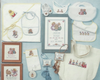 """Clearance - """"Pitter Patter #1"""" Lorri Birmingham Counted Cross Stitch by Jeanette Crews Designs, Inc."""