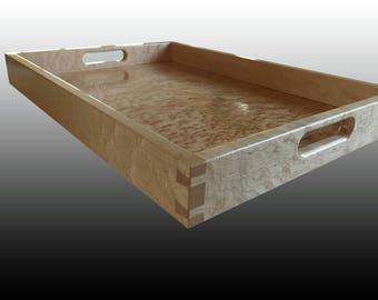 Wood Serving Tray - Birdseye Maple