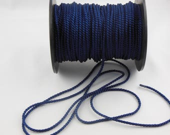 Twisted cord soutache Navy