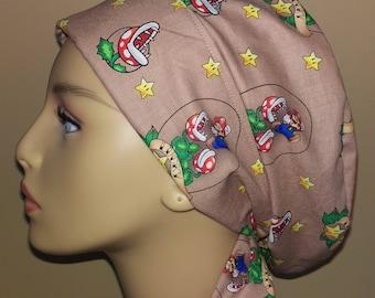 Woman's Hair wrap , Scrub Cap , cartoon , comic , game